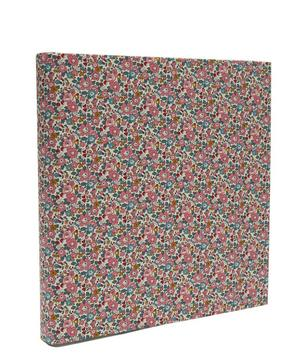 Betsy Anne Print Cotton Square Photo Album