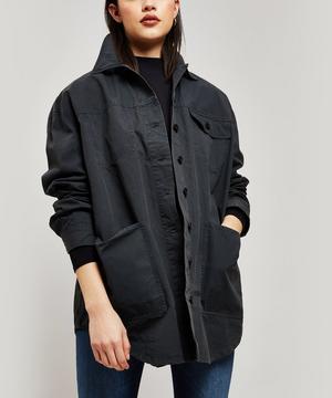 Ozetha Cotton Twill Overshirt