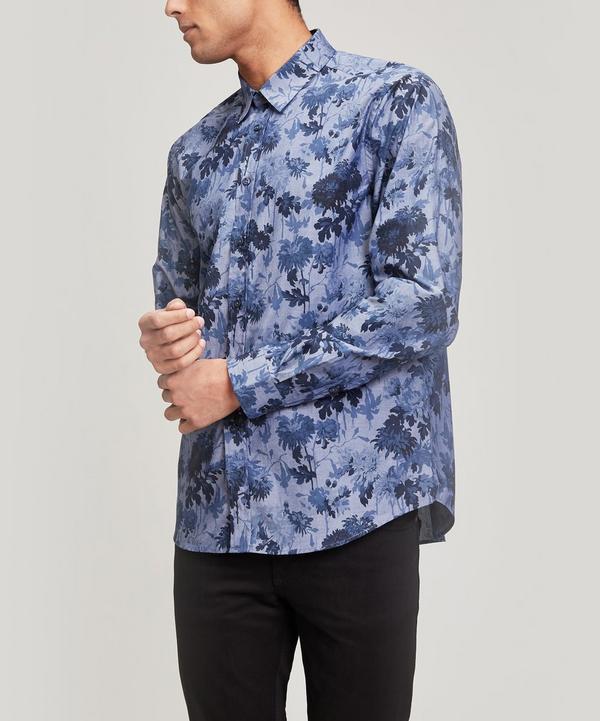 Jasmina Chambray Cotton Long-Sleeved Lasenby Shirt