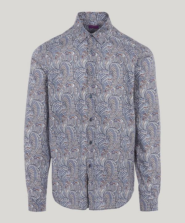 Oscar Tana Lawn Cotton Long-Sleeved Lasenby Shirt