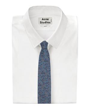 Amber Fields Silk Jacquard Tie