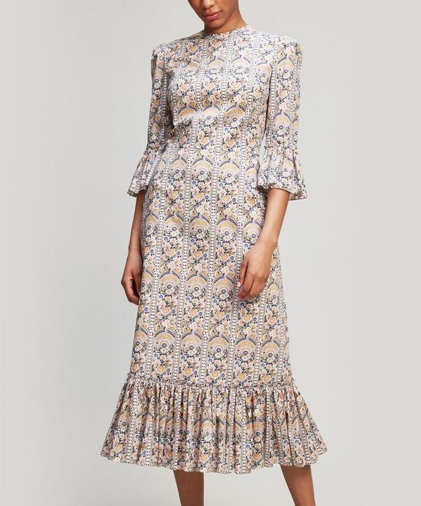 Festival Floral Cotton Dress