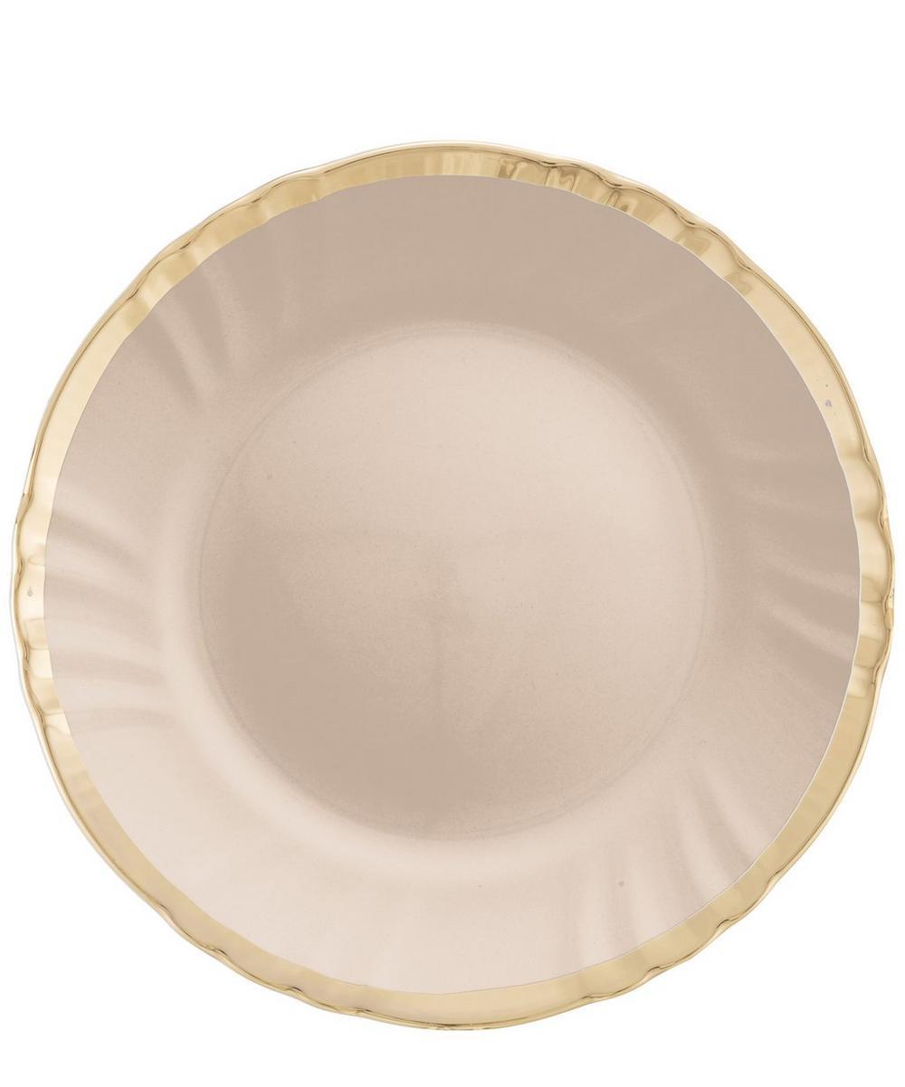 Ironstone Dinner Plate