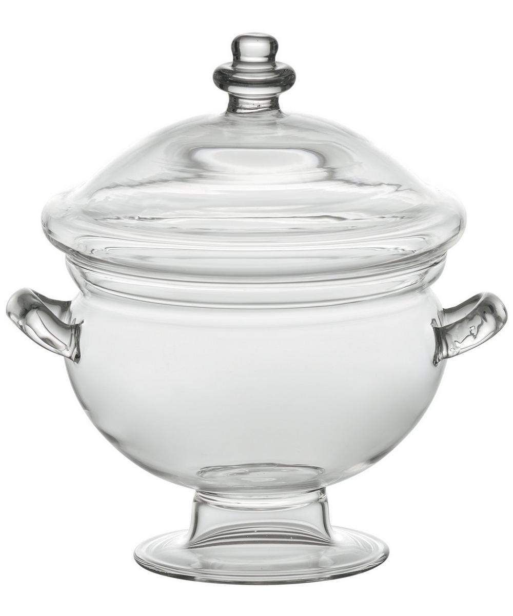 Glass Potiche