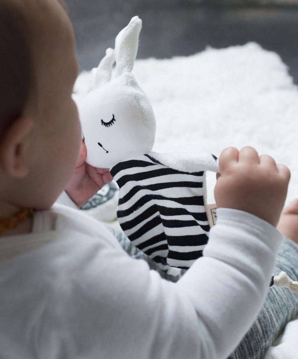 Stripe Cuddle Bunny