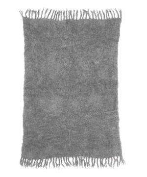 Cape Mist Mohair-Blend Blanket