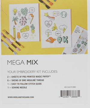 Mega Mix Embroidery Kit