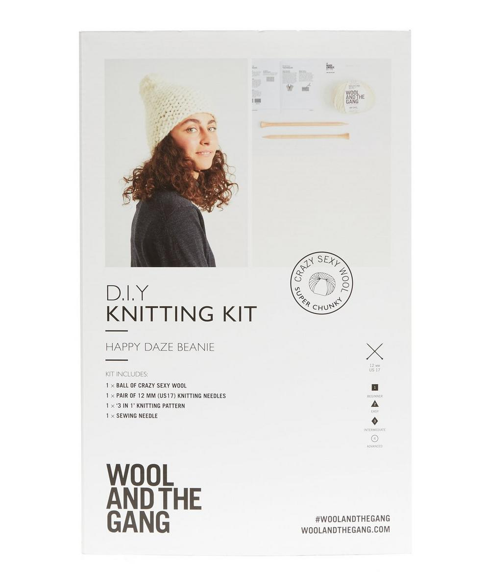 Happy Daze Beanie Knitting Kit