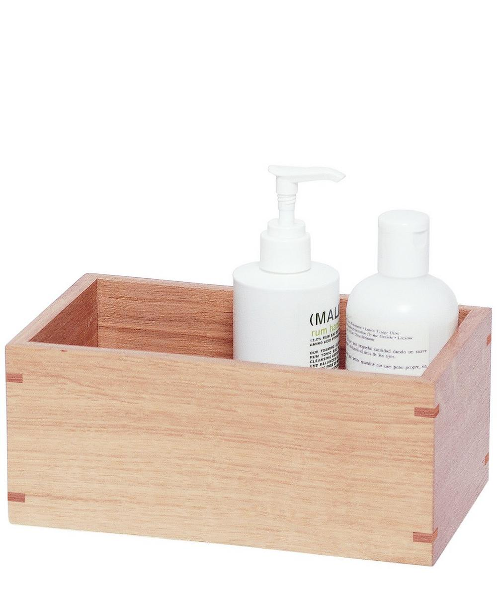 Mezza Natural Oak Storage Box