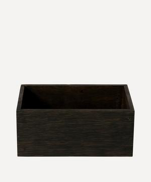 Mezza Dark Oak Storage Box