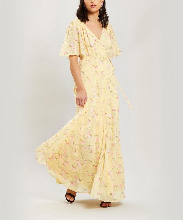2abe095e4ff Short Sleeve Maxi Wrap Dress ...