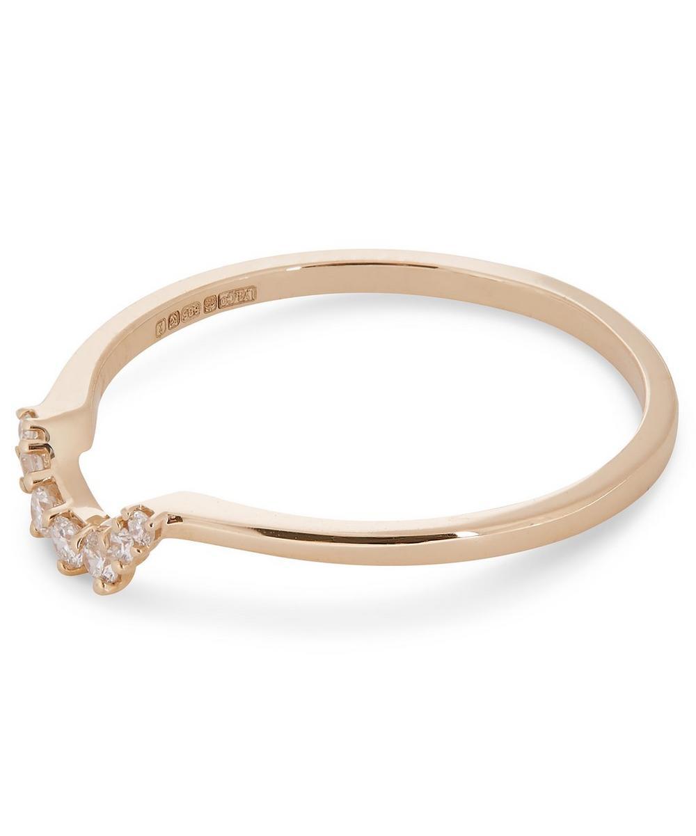 Gold Tiara Diamond Ring