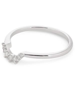 White Gold Tiara Diamond Ring
