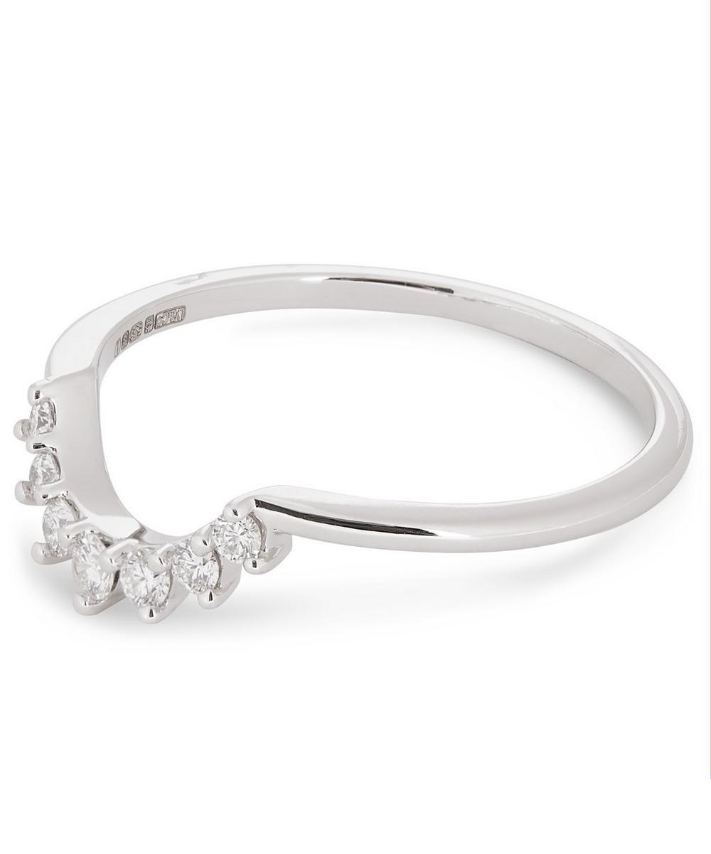 White Gold Grand Tiara Diamond Ring
