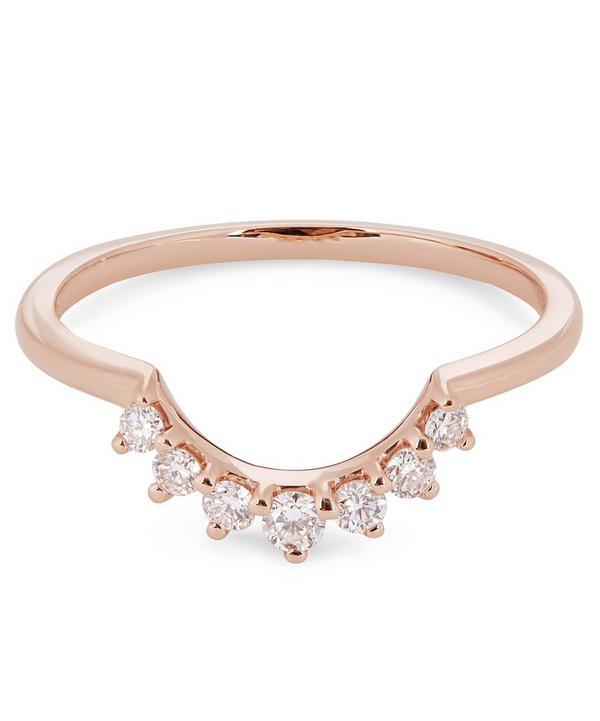 f5a36267f225c Rose Gold Grand Tiara Diamond Ring ...