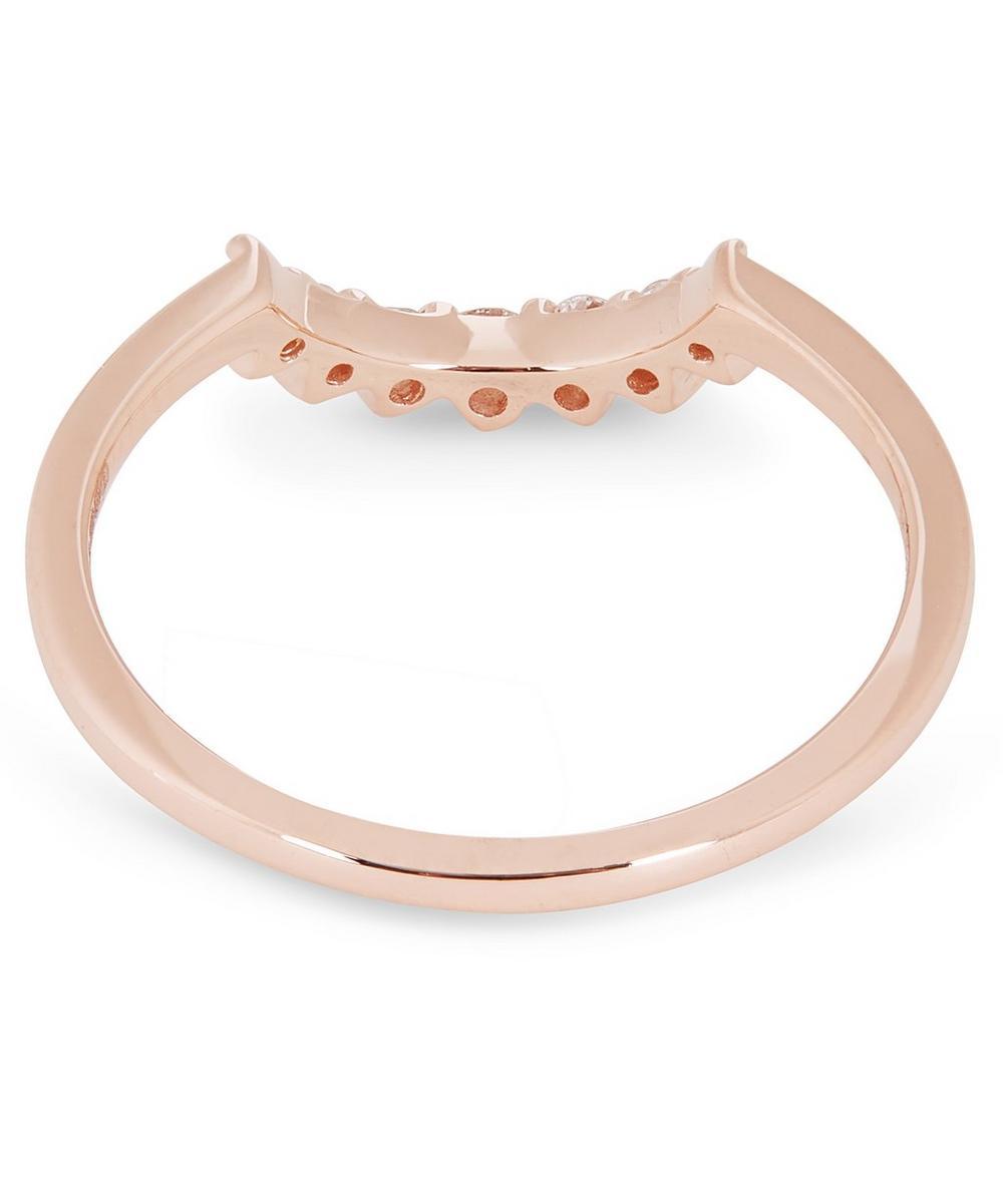 Rose Gold Grand Tiara Diamond Ring