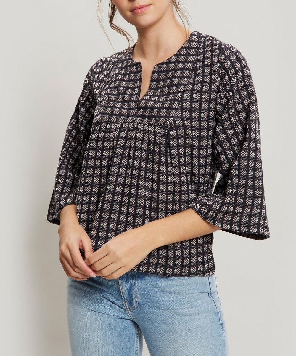 ACE AND JIG Isabelle Tunic Top in Floret