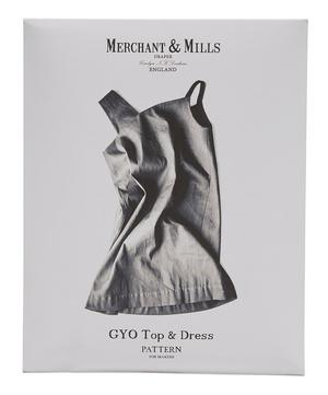 Gyo Top and Dress Sewing Pattern