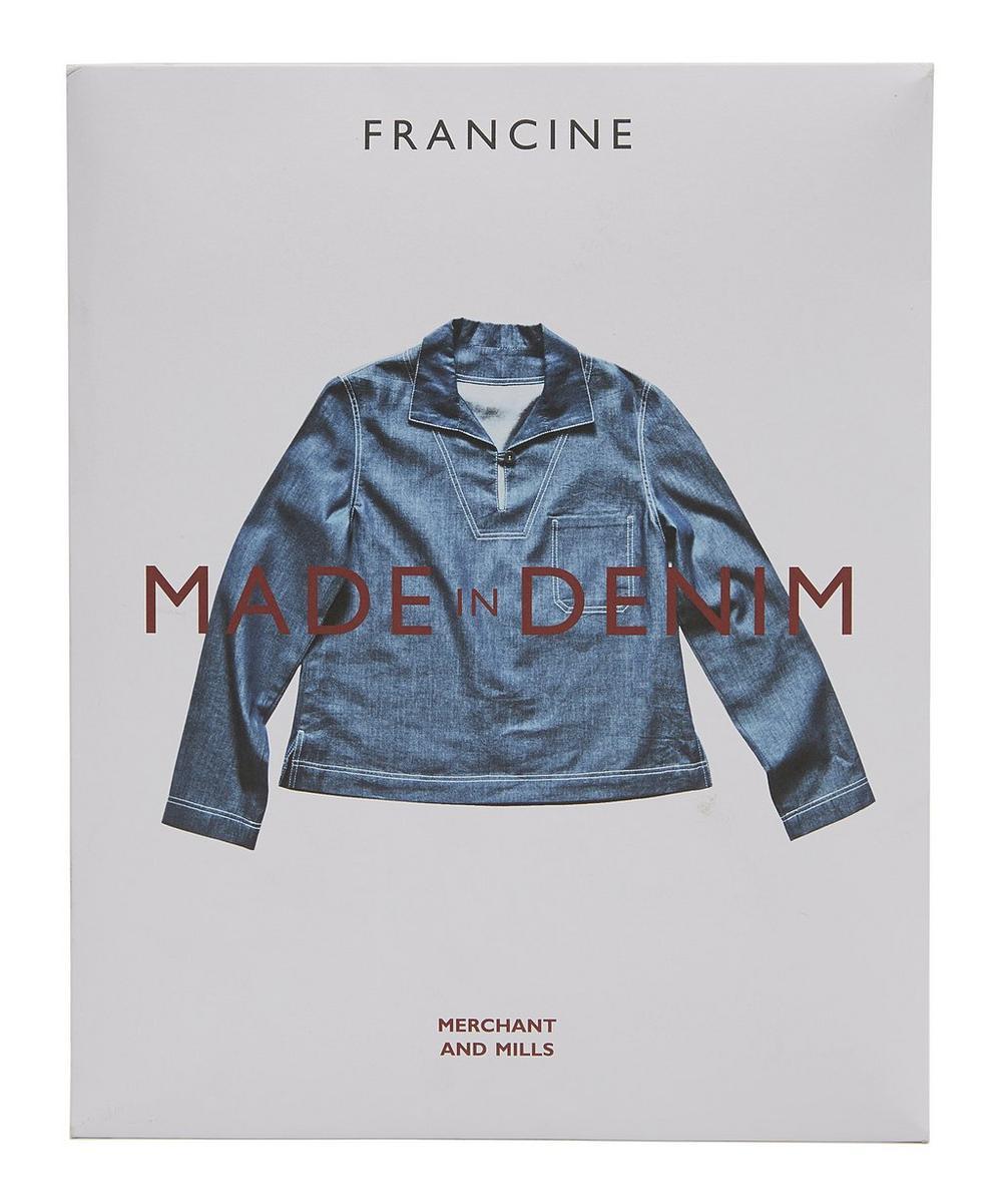 Francine Denim Dress Sewing Pattern