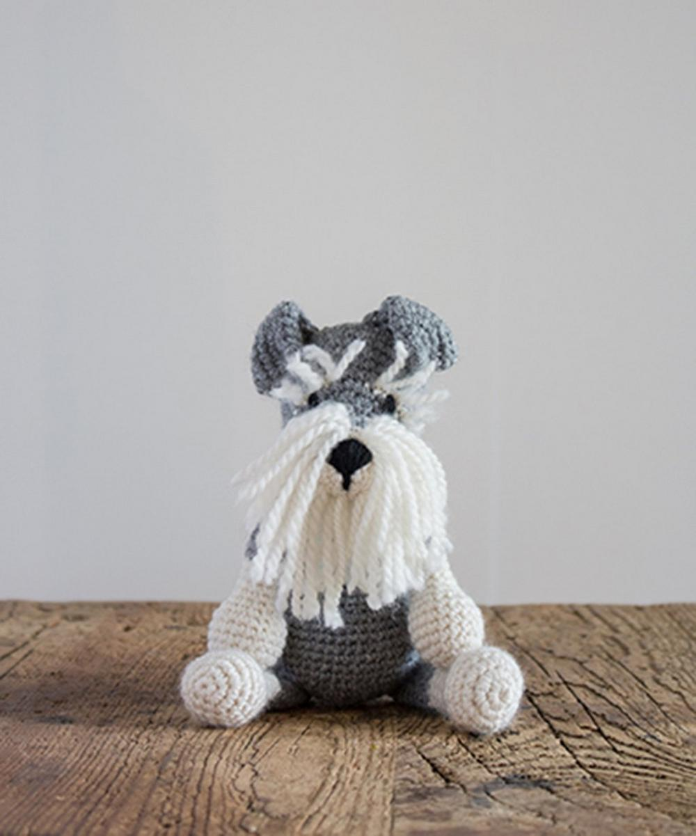 Romeo the Schnauzer Crochet Toy Kit