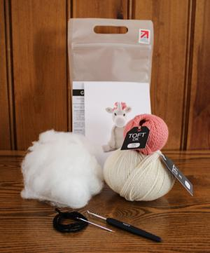 Chablis the Unicorn Crochet Toy Kit