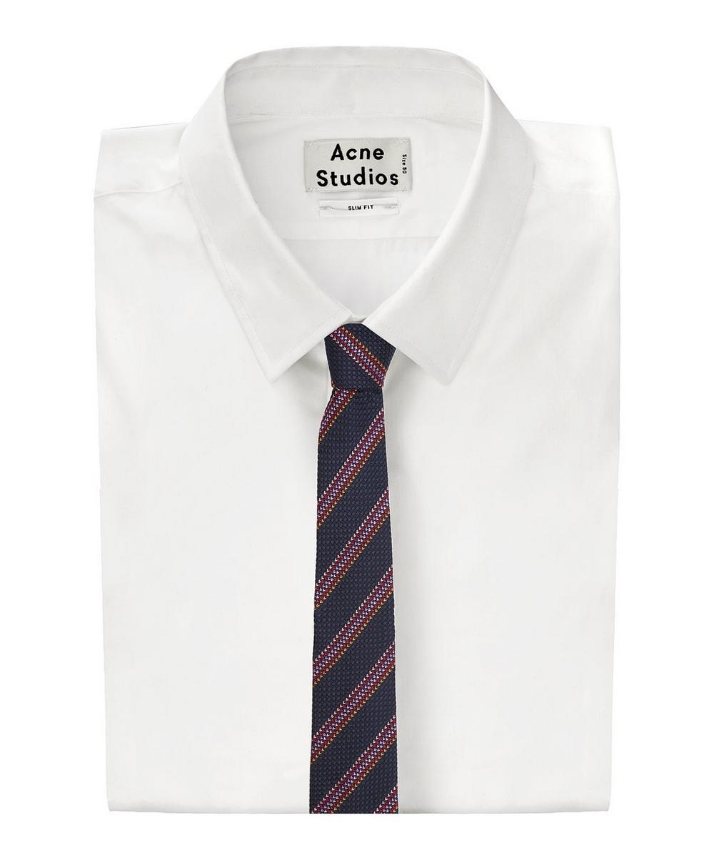 Diagonal Multi Block Stripe Tie