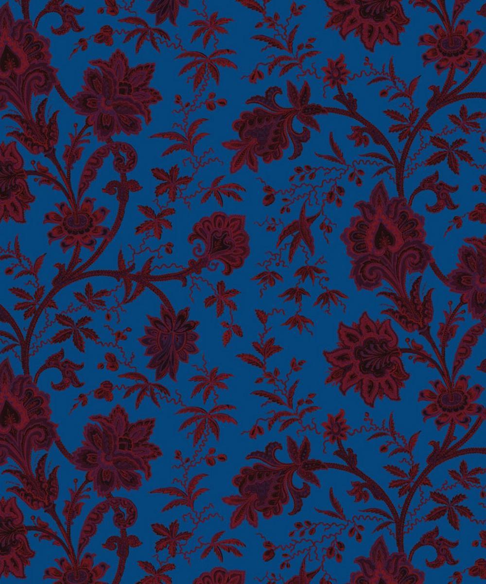 Indienne Cotton Velvet Fabric