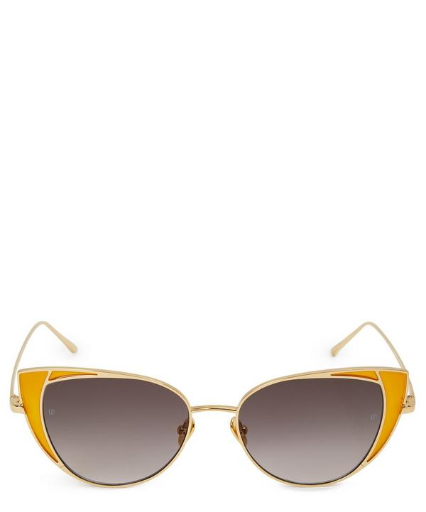 1f838c258ed Wide Cat-Eye Sunglasses Wide Cat-Eye Sunglasses · Quick View. Linda Farrow