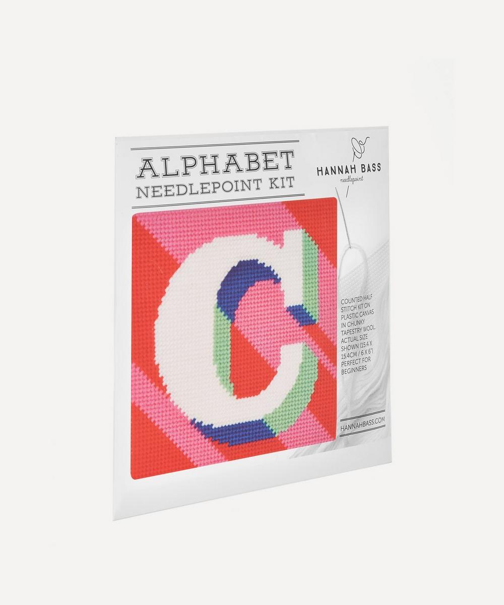 Letter C Needlepoint Kit