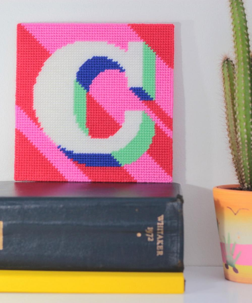 Letter 'C' Needlepoint Kit