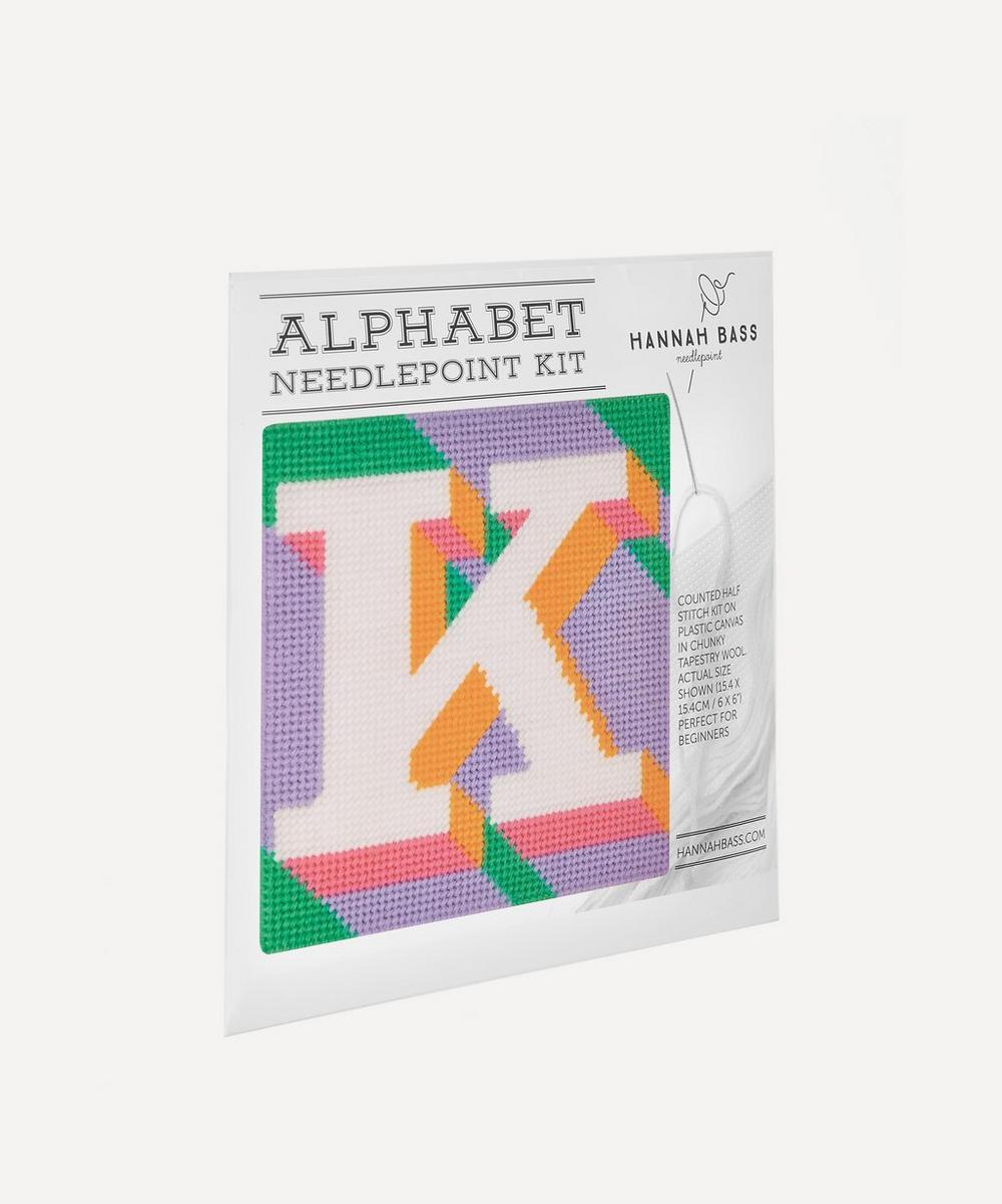 Letter K Needlepoint Kit