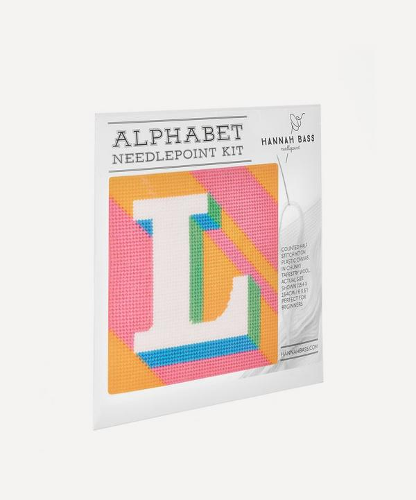 Letter 'L' Needlepoint  Kit
