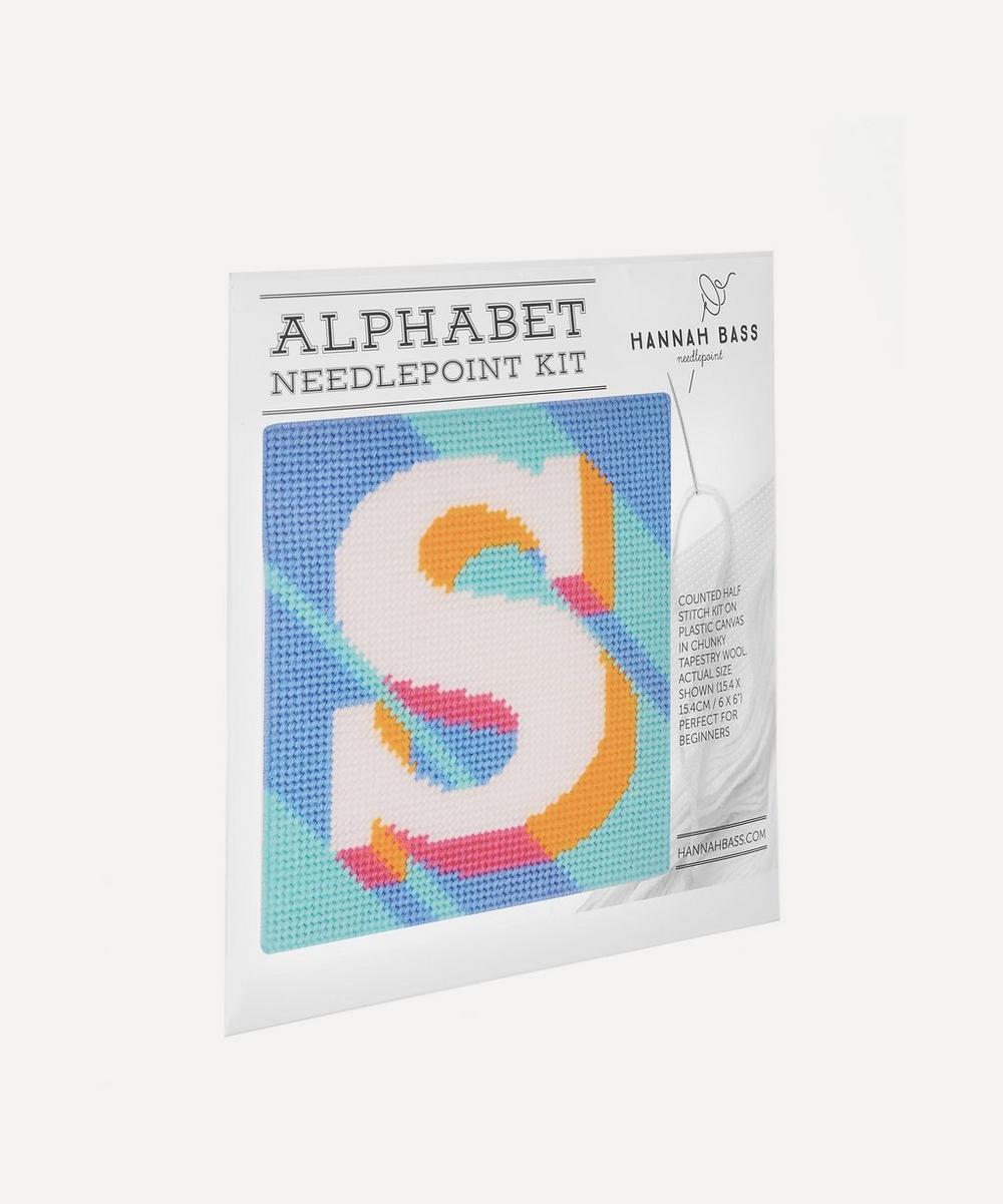 Letter S Needlepoint Kit