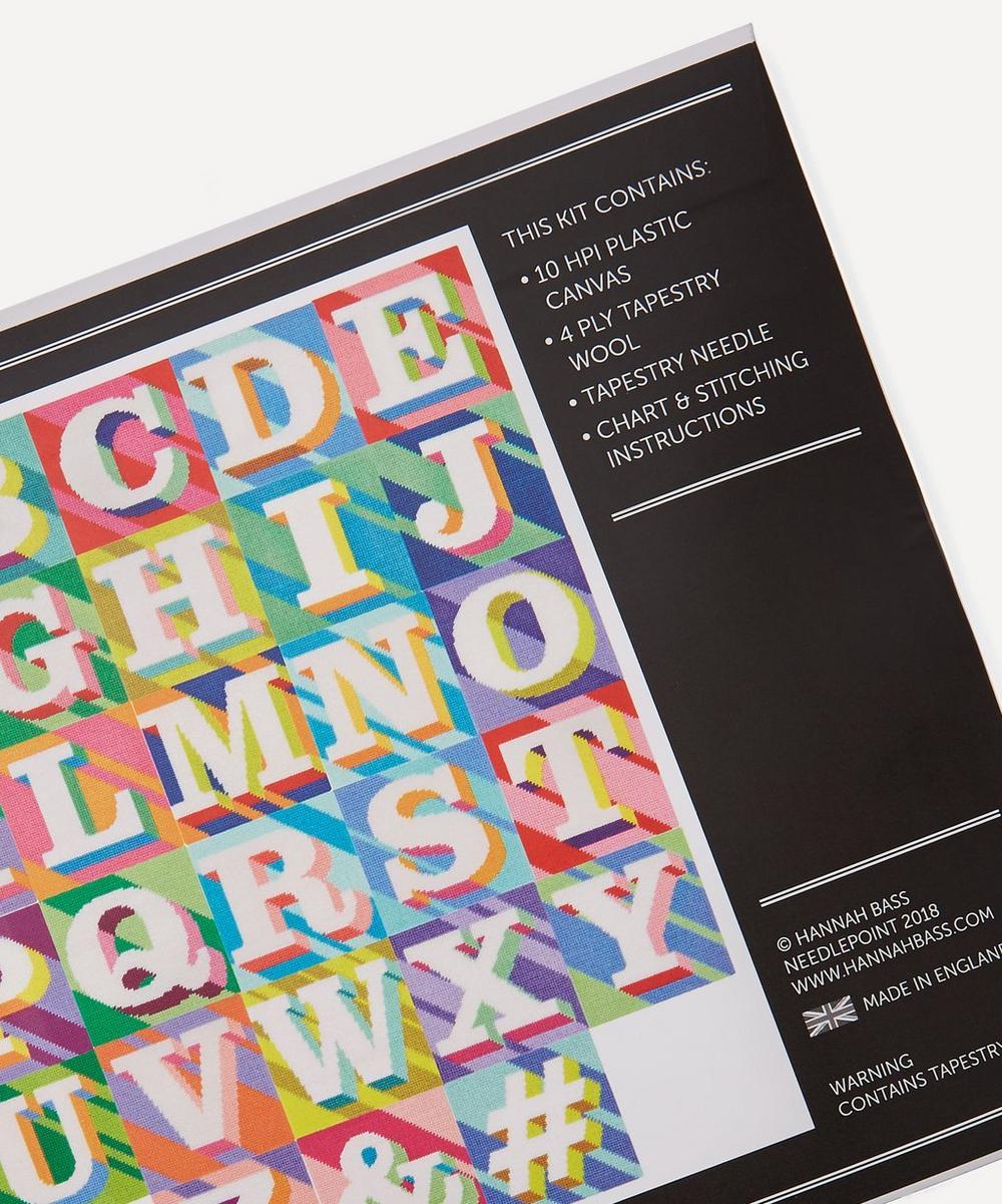 Letter 'T' Needlepoint Kit