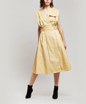 Logan Cotton-Blend Dress