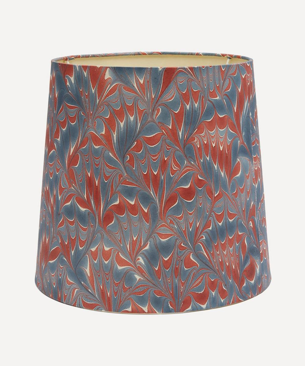 Tall Tapered Hand-Marbled Arno Lampshade