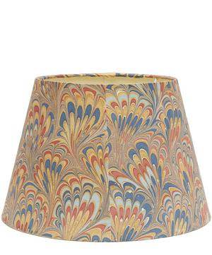 Straight Empire Hand-Marbled Piave Lampshade