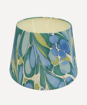 Straight Empire Hand-Marbled Roya Lampshade