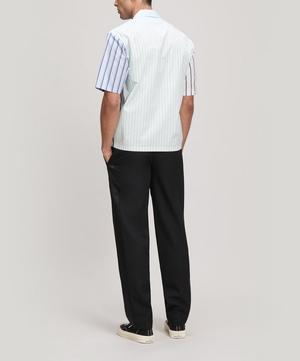 Multi Stripe Cotton Shirt