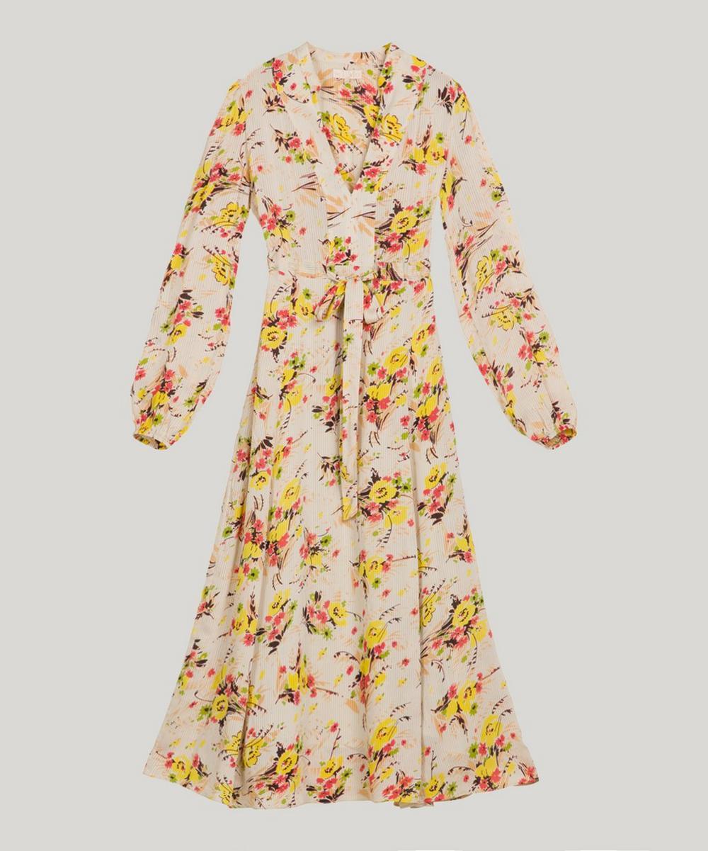 Crisp Thin Semi Belted Dress