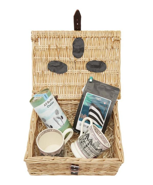 Coffee Lover's Wicker Gift Hamper