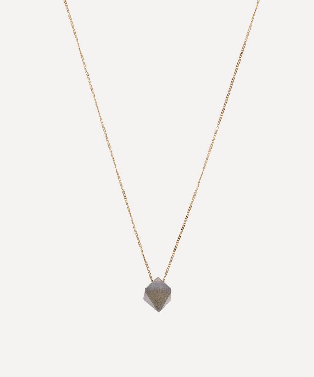 Atelier VM - 18ct Gold Cristal Labradorite Pendant Necklace