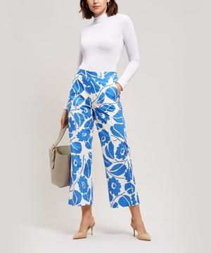 Hawaiian Elasticated Waist Trousers