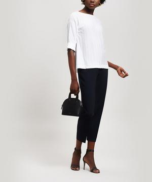 Short Sleeve Linen Top
