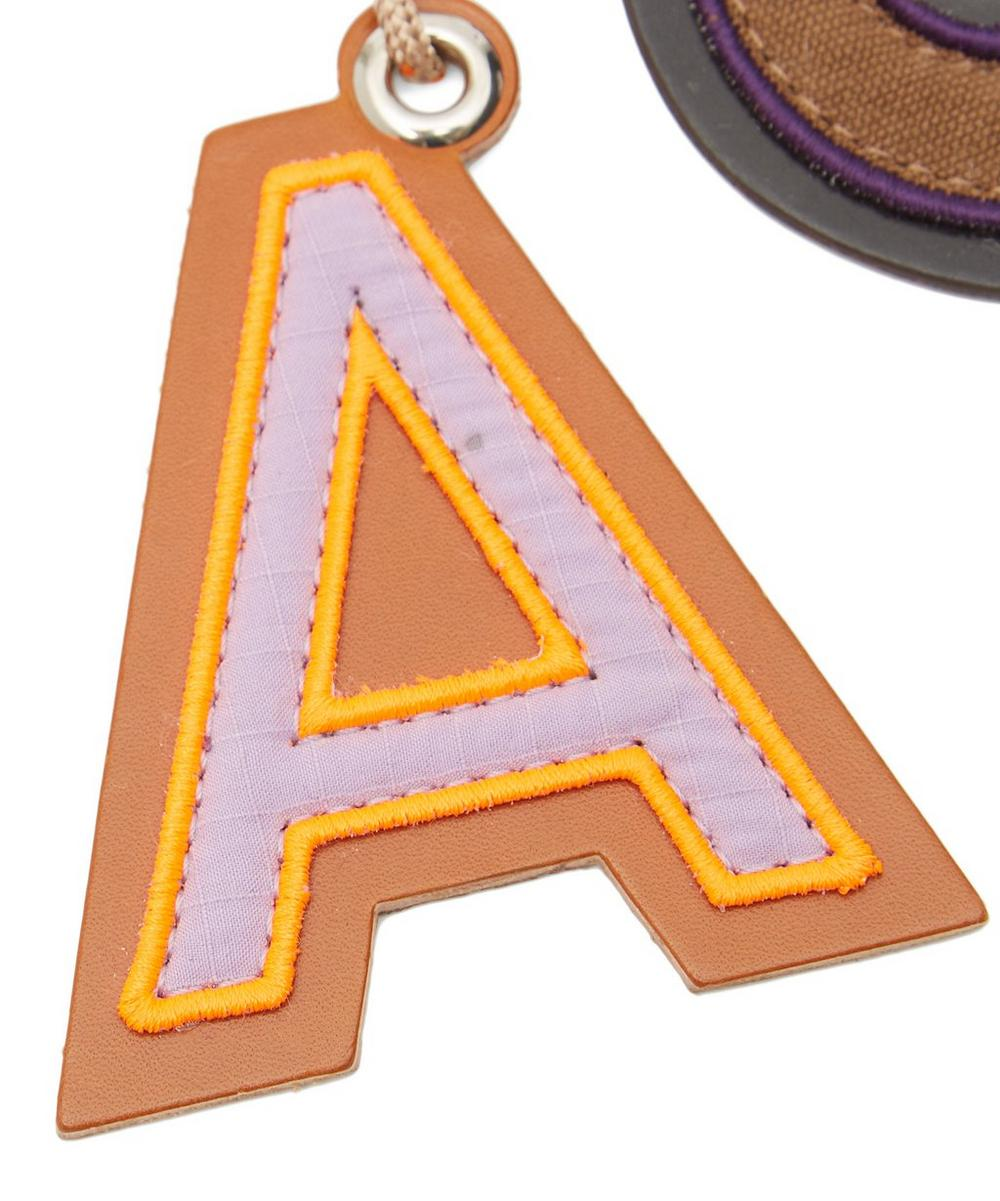 Letters Keyring