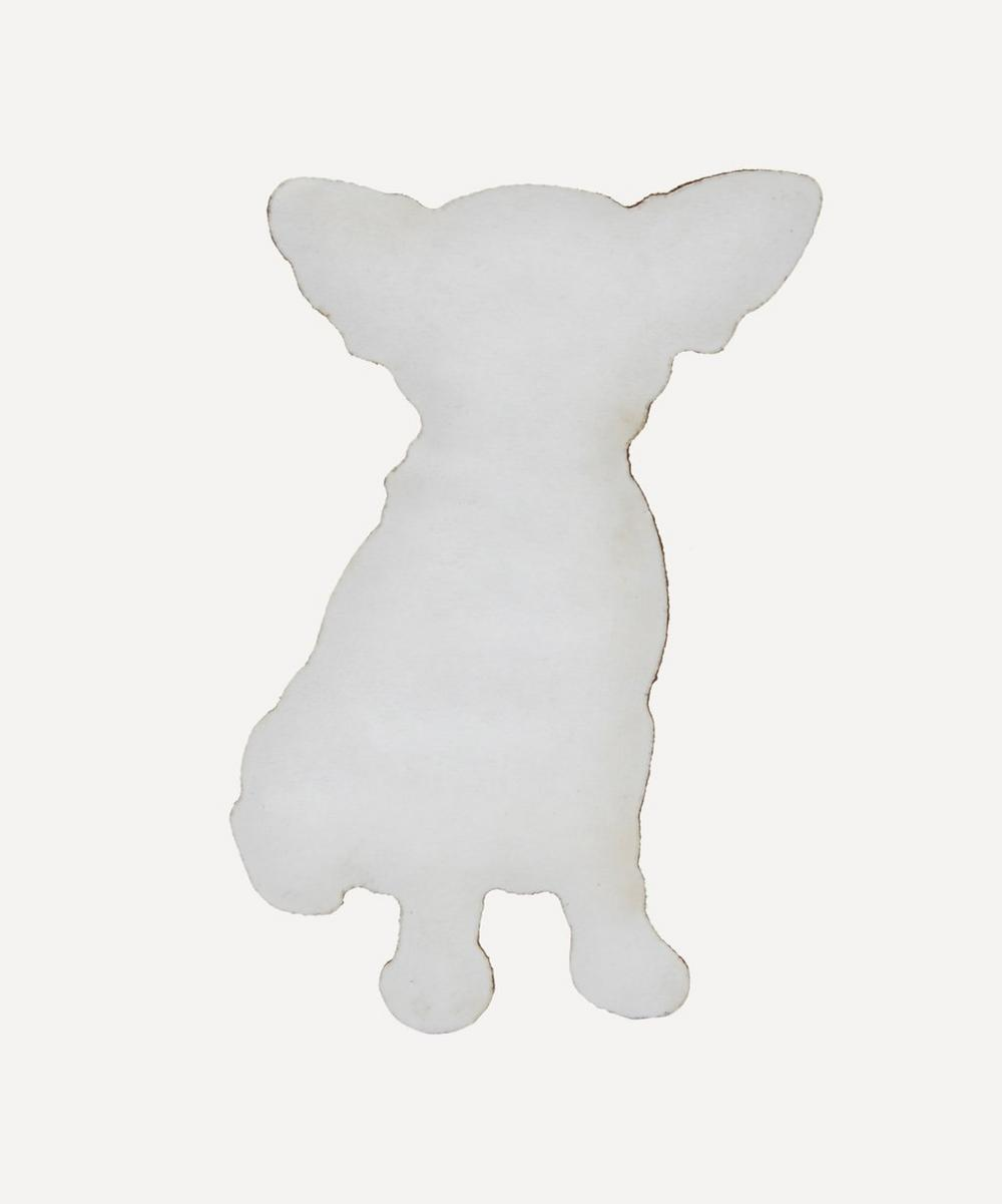Embroidered Stick-On Chihuahua Dog Patch