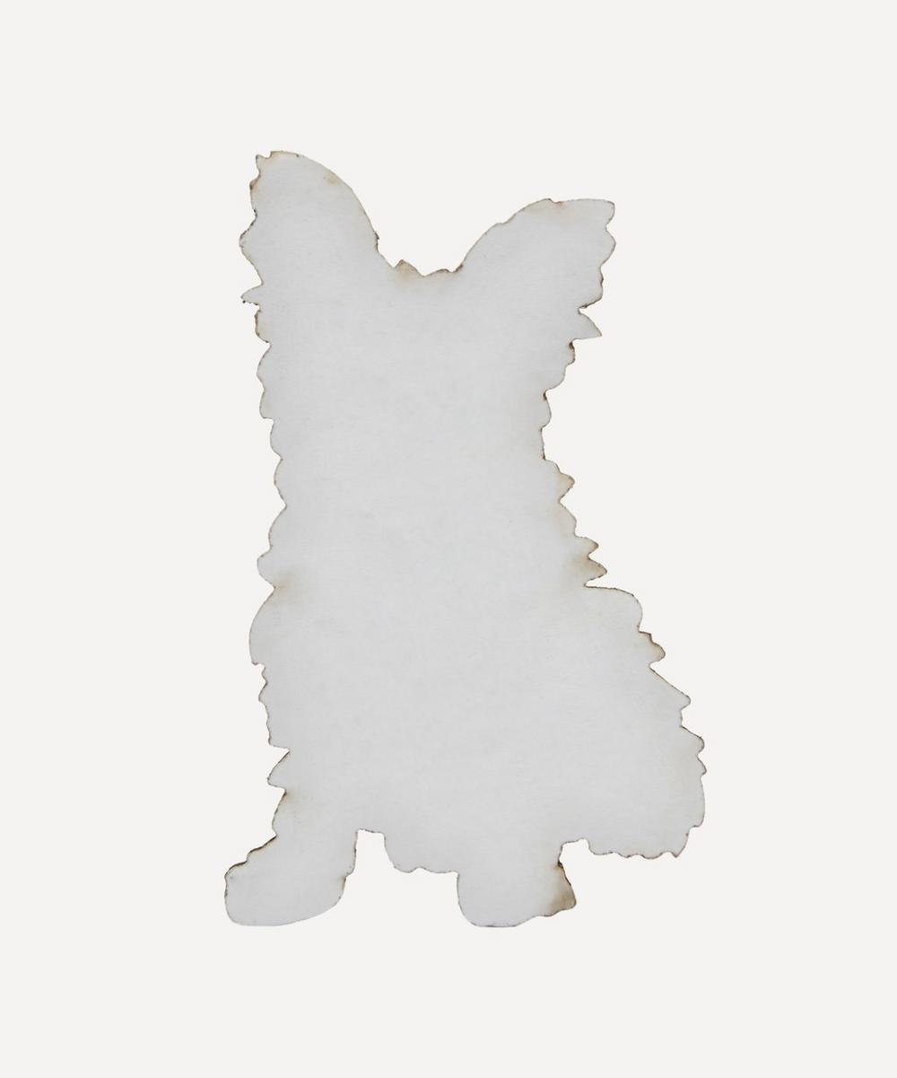 Embroidered Stick-On Terrier Dog Patch