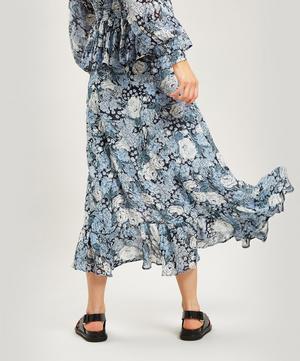 Elm Floral Georgette Wrap Skirt