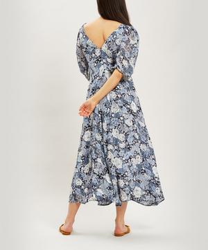 Elm Floral Georgette Midi-Dress