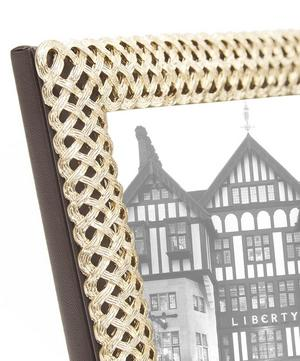 "Braid Gold-Plated 5x7"" Photo Frame"